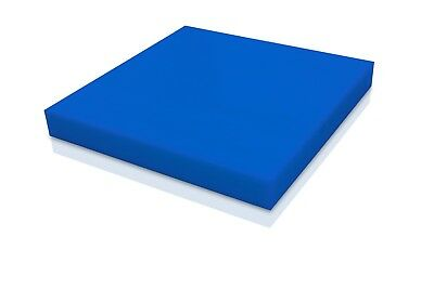 "Delrin - Acetal Plastic Sheet 1/2"" - 0.500"" Thick - Blue Color You Pick The Size"