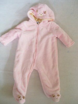 NWOT Baby Girls 6/9 mo ABSORBA Snowsuit  Super Plush and Warm Super Quality