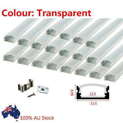 6X1M Alloy Channel Aluminum Bar Aluminum Profile For LED Strip Light With Cover