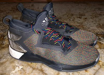 ADIDAS D LILLARD 2.0 March Madness Basketball Shoes Sneakers NEW Mens Sz 7.5 c7a513495