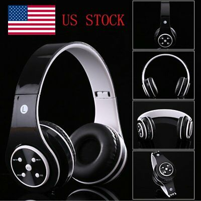Wireless Bluetooth Foldable Headset Stereo Headphone Earphone for iPhone  USA