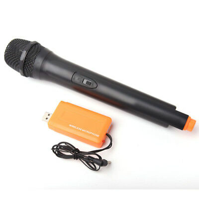 Handheld Multimedia Wireless Microphone with USB Receiver for PC and Laptop