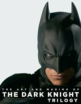 The Art and Making of The Dark Knight Trilogy by Jody Duncan Jesser Book The