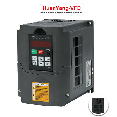 UPDATED 5HP 4KW 380V VFD VARIABLE FREQUENCY DRIVE INVERTER Mill CNC LATHE