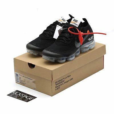 quality design e14e8 bc651 OFF-WHITE x Nike Air Vapormax 2.0 Flyknit Black 2018 THE TEN AA3831-002