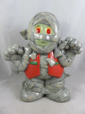 Clay Magic Mold - Mummy Monster - Halloween Statue Figurine - Hand Painted Decor