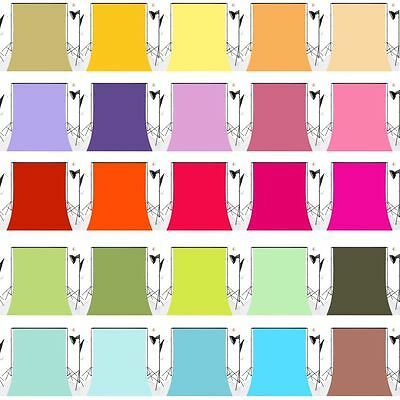Plain Colors Polyester Photography Backdrop Background Studio Props Washable HOT