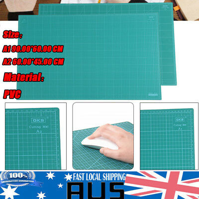 A1 A2 5-ply PVC Self Healing Cutting Mat Craft Quilting Grid Lines Printed Mat