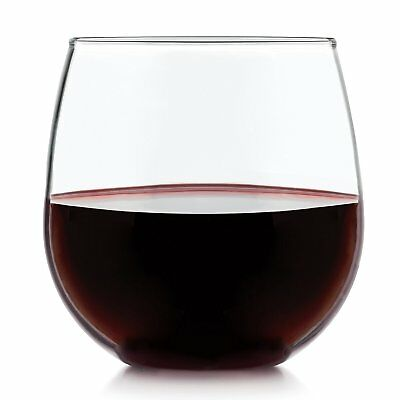 Libbey Vina Stemless Red Wine Gles 16 75oz Set Of 4