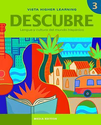 Descubre level 1 1 by vista higher learning workbook 876 descubre level 3 by vista higher learning fandeluxe Gallery
