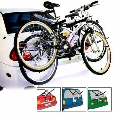 2 Bike Carrier Car Cycle Rack - Rear Mount Holder SMART FOR TWO