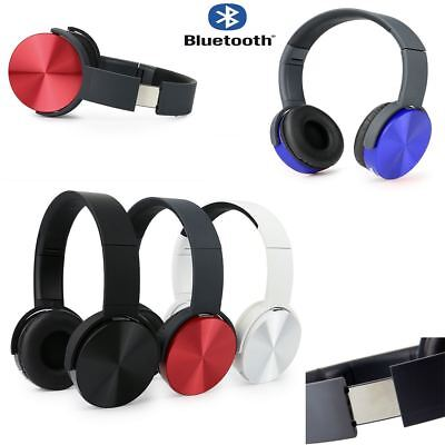 SLIM Bluetooth Wireless Stereo Headphones/Headset For iPhone,iPad,Samsung Galaxy