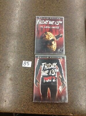 friday the 13th The Final Chapter / Friday The 13th Part 2 . Deluxe Edtion Dvd B