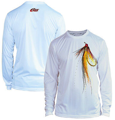 Costa Dorado Technical Performance Fishing Shirt Pick Size-Free Ship UPF 50