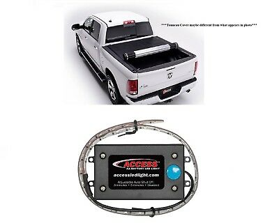 """Bak Industries Hard Rolling 8' Tonneau & 18"""" Battery LED for Ford F350/F250 SD"""