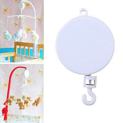 Rotary Baby Kids Crib Mobile Bed Bell Toy Holder Arm Bracket Wind-up Music Box