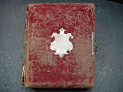 19th Century Black History Photo Album!  Rare And One Of A Kind History!