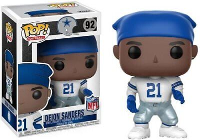 Deion Sanders (Home Jersey) Dallas Cowboys NFL Legends Funko Pop! Vinyl Figure