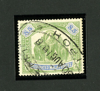 Malaya Stamps # 16 XF Used Scott Value $500.00