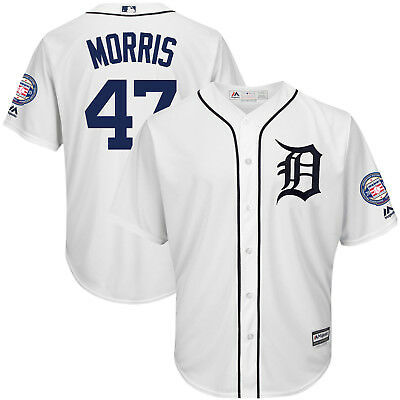 Jack Morris Detroit Tigers Majestic 2018 Hall of Fame Induction Patch Jersey