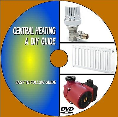 Service Maintain & Upgrade Your Central Heating System Video Dvd Practical Guide