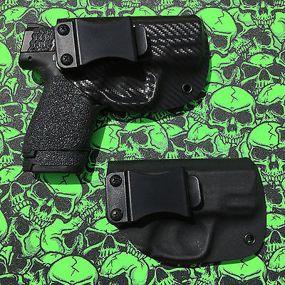 "M&P Shield 9/40 / Shield 45 Custom Kydex IWB CCW CARRY ""INSIDE THE WAISTBAND"""