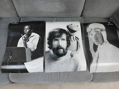"Clean Set of  8 Apple Think Different posters 11"" x 17"" 1990's"