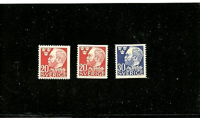 Lot 68185 Mint Nh 380 381 And 382 : Stamps  Sweden Nobel