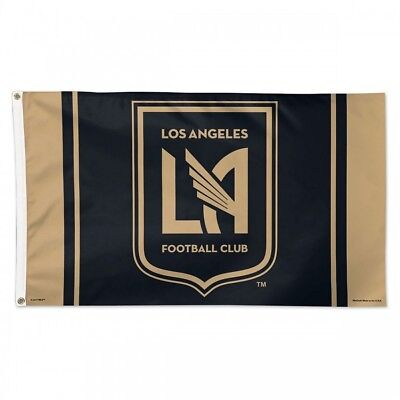 huge selection of a4259 bbe5a Los Angeles Fc Flag 3 x5  Mls Lafc Banner  Fast Free Shipping