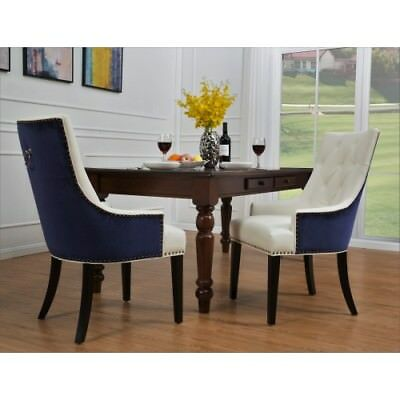 Groovy Cadence Dining Side Chair Button Tufted Pu Leather Velvet Caraccident5 Cool Chair Designs And Ideas Caraccident5Info