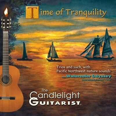 The Candlelight Guitarist - Time of Tranquility [New CD]