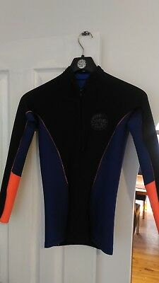 NEW! Women's RIP CURL G-Bomb 1mm Wetsuit Jacket Size 10