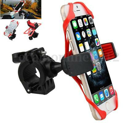 Universal Motorcycle Bicycle MTB Bike Handlebar Mount Holder For Cell Phone