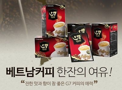 10T x 3 Preminum Vietnamese G7 Club Instant Coffee Mix 3in1 by Trung Nguyen_VG