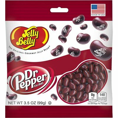 Jelly Belly DR PEPPER® JELLY BEANS JELLY BELLY 99gm Bag REAL SODA FLAVOUR