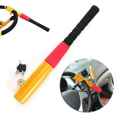 Baseball Bat Car Steering Wheel Security Lock For Mitsubishi Colt Ralliart 2008>