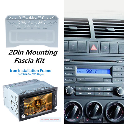 Car Stereo Radio Frame Fascia Dash Panel Mount for VW Series Jetta Chico Golf