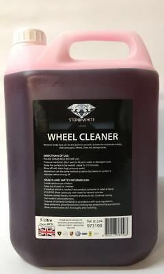 Car Care Alloy Wheel Cleaner Acid Free Aluminium Cleaner / Brake Dust Remover