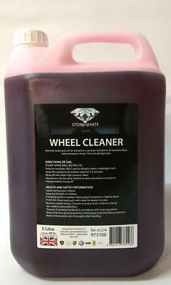 Blood Red Alloy Wheel Car Paint Cleaner Iron Remover Decontaminent 1L 5L 25L