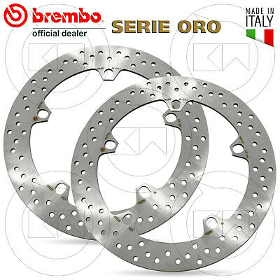 Kit 2 Dischi Freno Anteriore Brembo Bmw R 1150 Gs Adventure 1150 2002 > 2005