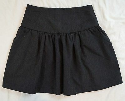 Yaya Nom De Plume Pleated Black Mini Skirt Size S (G24#2931)