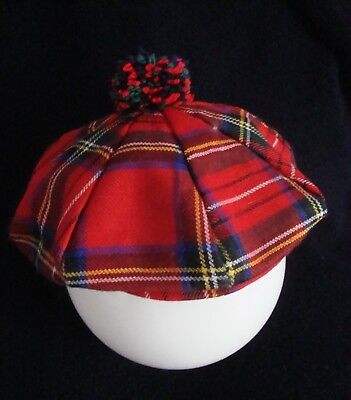 CAPPELLO Hats  BASCO tartan HANNA HATS made in Ireland TG.XL  NEW!   Rare