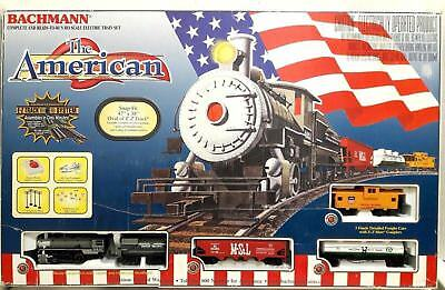 Bachmann The American HO Scale Electric Snap Fit Train Set 00637 EZ Track