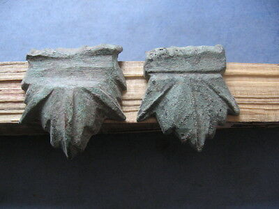 """stylized Oak Leafs""ancient Celtic Bronze Warriors Military Equipment 400-200 Bc"