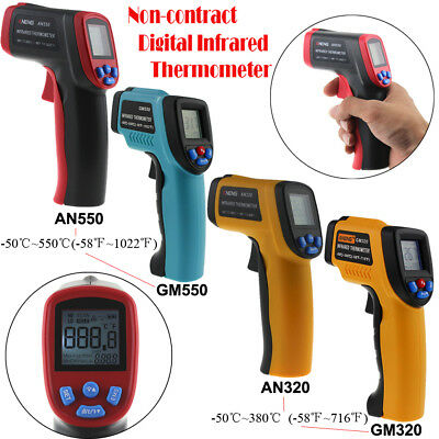 Non-Contact Handheld LCD IR Laser Infrared Digital Thermometer Temperature Gun