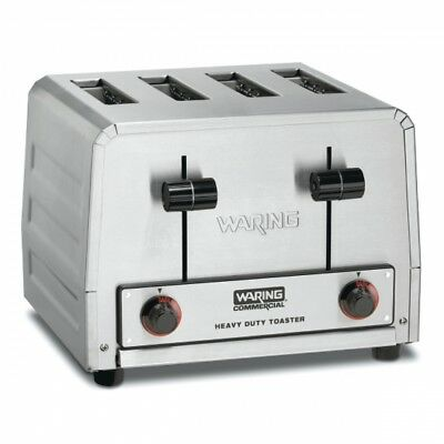 Waring WCT800 Commercial Heavy Duty 4 Slot Toaster 120V 1 YEAR WARRANTY