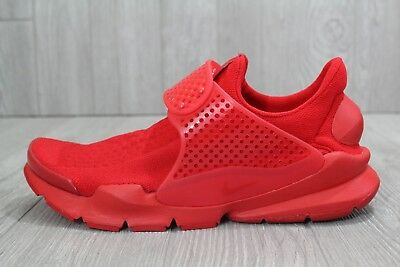 0d0dc180132b 27 New Mens Nike Sock Dart KJCRD SZ 10 University Red Shoes 819686 600 12 13