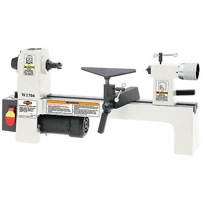Shop Fox W1704 1/3 HP 110V Variable Speed Bench Top Wood Lathe