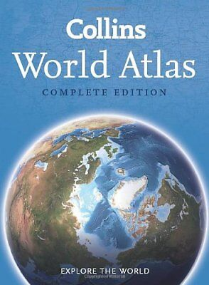 Collins World Atlas: Complete Edition by Collins Maps Book The Cheap Fast Free
