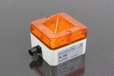 PFANNENBERG - Compact Strobe Beacon Orange 24 VDC - Pl 105
